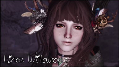 LINEA WILLOWSONG - a standalone wood elf follower by Brandiibuck and MassiveMaster - ported to SSE by bchick3