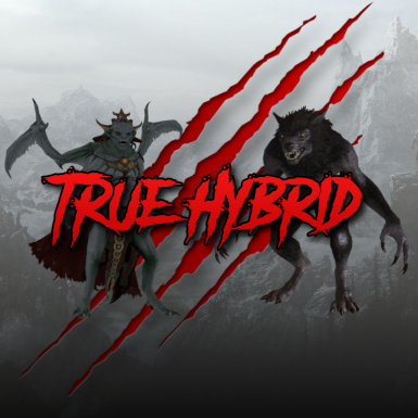 PT-BR True Hybrid - Tainted Blood of the Dragonborn  Werewolf and Vampire Hybrid SE - Traducao