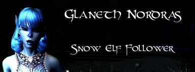 Glaneth Nordras- Snow Elf Follower by BloodScourge88 - Ported to SSE by bchick3