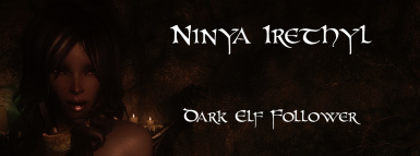 Ninya Irethyl- Dark Elf Follower by BloodScourge88 - Ported to SSE by bchick3