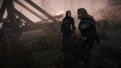 Battle of Whiterun but shes on the wrong side