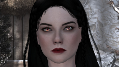 1.8.3 Vampire Makeup + The Eyes Of Beauty Vampire Eyes SSE Mod#15910