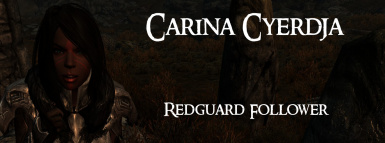 Carina Cyerdja- Redguard Follower by BloodScourge88 Ported to SSE by bchick3