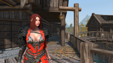 Crimson Armor in my character xD