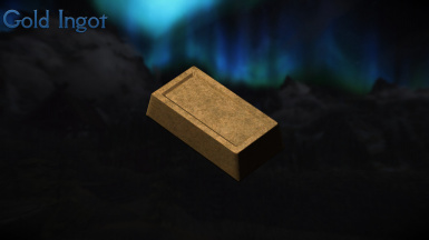 how to get gold ingots in skyrim