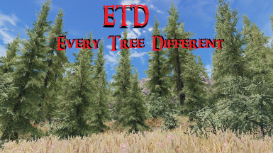 ETD - Every Tree Different