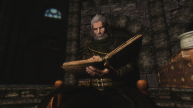 Claus read in College Of Winterhold