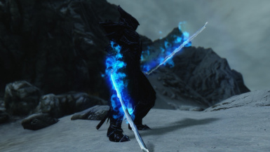 Blue Flame Dremora Lord
