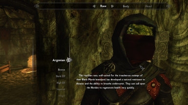 Dark Brotherhood Mask Fix - SSE at Skyrim Special Edition Nexus