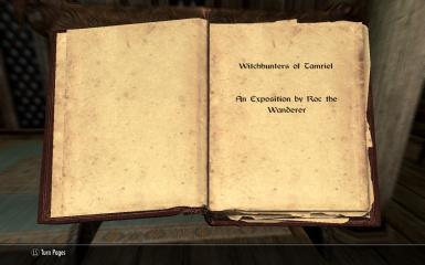 Witchunters of Tamriel 2