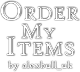 Order My Items - Special Edition