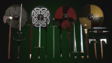 Somewhat Historically Accurate Weapons and Viking Gear