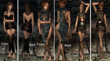 Sexy clothing overhaul skyrim