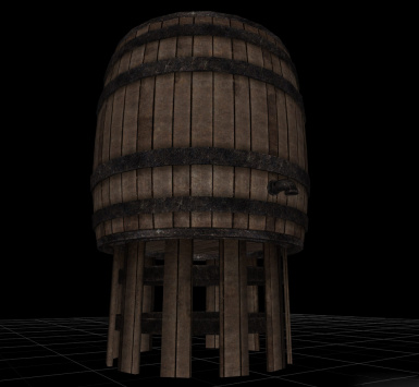 barrel fix and retexture