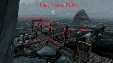 Main fast travel point