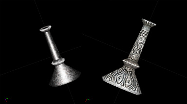 Silver Candlestick ( from Thieves Guild Questline ) New and Old
