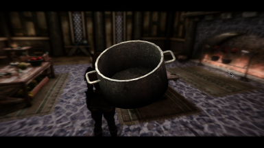 New cast iron pot