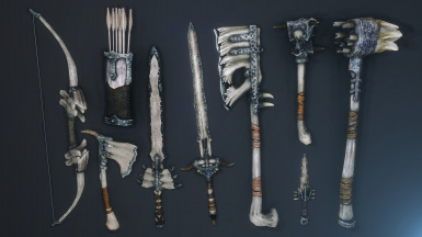 Dragon Bone Weapons Complete