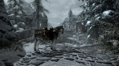 Bruma and The Shire patch for Convenient Horses
