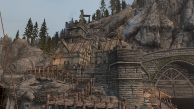 High-Gate District with Player Home