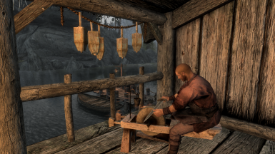 Haakig Hard-Heart at work at his forge