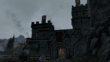 The Low-Gate district gatehouse
