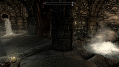 Solitude bath with new lighting template