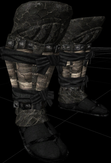 Dragon armor boots