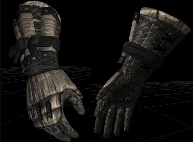 Dragon armor gloves