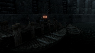 Solstheim Docks at night