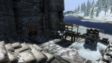 Windhelm Docks Abandoned Market Stall