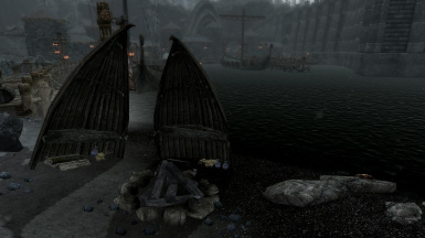 Solstheim Guards Improvised Camp for drinking