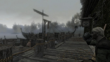 Riften Dock Worker taking a break