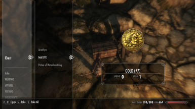 Lost Treasures (immersive more gold and other items)