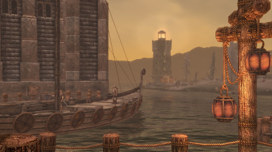 View from the docks