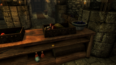 Location Of Chest: Bits and Pieces, Solitude, behind the counter