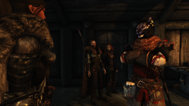 A Khajiit, Breton, Bosmer and Nord all walk into a tavern...