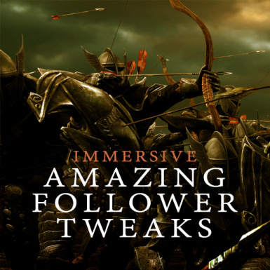 Immersive Amazing Follower Tweaks SE