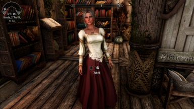 Now my wife looks like a real lady!