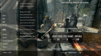 Invisible Crafted Helmets