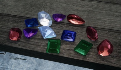 Pretty Gemstones SSE - test