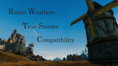 Rustic Weathers - TrueStorms Merged Compatibility SSE