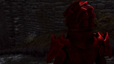 Scaled Ruby Flavor (female) - helmet details -