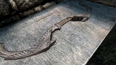 Darker Elven Weapons - Retexture