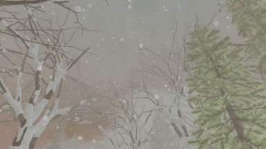 transparent HD snowflakes