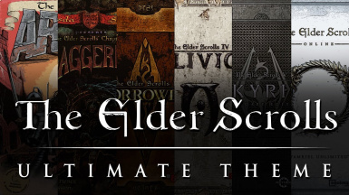 The Elder Scrolls Theme Mashup - A Main Menu Music Relacer