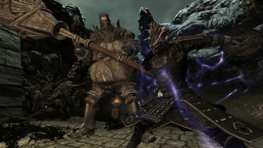Sky Haven Temple Guardians- Mihail Monsters and Animals (SSE) (mihail immersive add-ons- dark souls- blades)