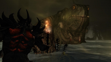 The Toad Prince- Mihail Monsters and Animals (SSE) (mihail immersive add-ons- witcher- boss)