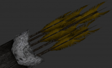 Feather Colour without ENB