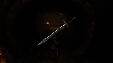 Draugr Sword with grip